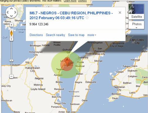 earthquake Cebu